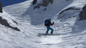 Steep skiing Tignes Val D'Isere