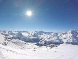 The view at summit de la davie